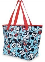 2017 Disney Store Summer Fun Mickey Mouse Beach Insulated Zip Cooler Tot... - €29,75 EUR