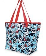 2017 Disney Store Summer Fun Mickey Mouse Beach Insulated Zip Cooler Tot... - £26.44 GBP