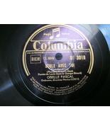 """10"""" 78 rpm RECORD COLUMBIA DF3018 GISELLE PASCAL SEULE AVEC TOI/UN OISEA... - £7.62 GBP"""
