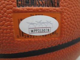 GIANNIS ANTETOKOUNMPO / AUTHOGRAPHED BUCKS LOGO FULL SIZE NBA BASKETBALL / JSA image 5