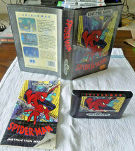 Spider-Man CIB good shape (Sega Genesis, 1991) - $19.95