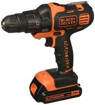 BLACK DECKER 20V MAX Matrix Cordless Drill Combo Kit, 2-Tool (BDCDMT120IA) - $111.02