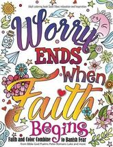 Adult coloring book : Good Vibes relaxation and Inspiration: Worry end w... - $9.49