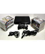 Sony Playstation 3 250GB Super Slim CECH-4001B w/ 20 Games Call of Duty ... - $299.99