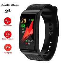 Men Smart Watch Blood Pressure Heart Rate Monitor Health Smartwatch Apple - $33.79