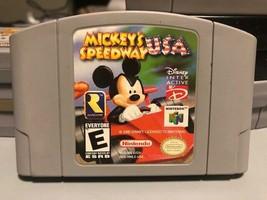 Mickey's Speedway USA (Nintendo 64, 2000) - $10.36