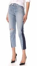 Nwt Citizens Of Humanity Liya Fade High Rise Shadow Side Seam Cropped J EAN S - $142.49