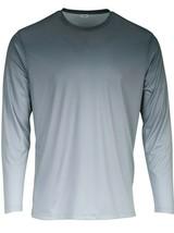 Sun Protection Long Sleeve Dri Fit Black Light Gray base layer sun shirt UPF 50+ image 1