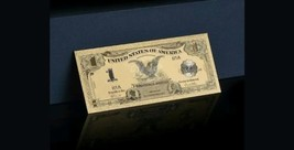 """1899 """"GOLD""""$1 SILVER☆CERTIFICATE BLACK EAGLE  Rep.*Banknote ~STUNNING - $13.17"""