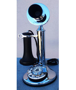 Western Electric Candlestick / Rotary Dial 50AL Chrome Plated Circa 1920's - $795.00