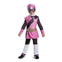 Disguise Power Rangers Ninja Acier Rose de Luxe Tout-Petit Déguisement Halloween - $31.69