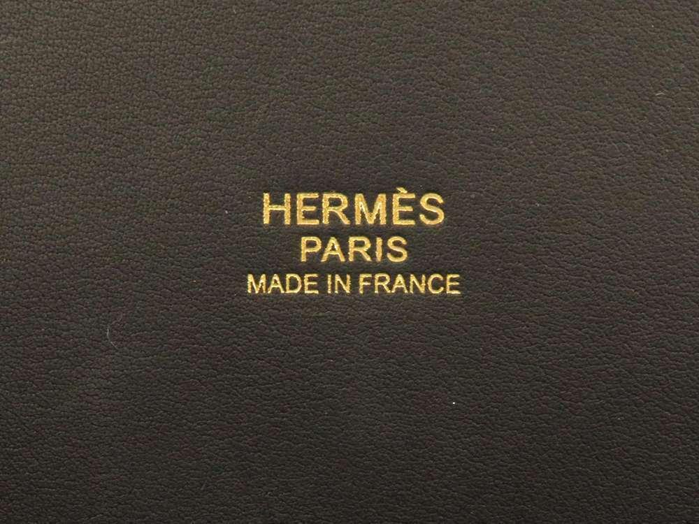 HERMES Bolide 31 Taurillon Clemence Noir 2Way Handbag Shoulder Bag #C Authentic image 10