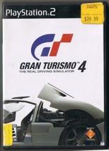 Nintindo Playstation 2 Gran Tourismo 4 Real Driving Simulator Game  - $9.49