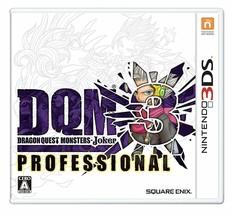 Nintendo 3DS Dragon Quest Monsters Joker 3 Professional Japan Japanese Game - $90.82 CAD
