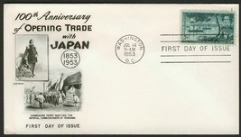 #1021 5c Opening of Japan, Fleetwood FDC **ANY 4=FREE SHIPPING** - $1.25