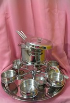 GOURMET Tramontina 16 Piece Chef's Fondue Set 18/10  , Lifetime Warranty   - $31.53