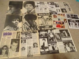 Michael Jackson teen magazine pinups clippings Lot Jackson 5 Huge Lot