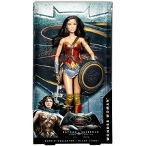 Batman v Superman Dawn of Justice Wonder Woman Doll Black Series - $123.67