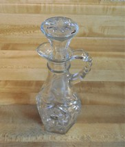 Anchor Hocking Vintage Oil And Vinegar Cruet with glass stopper, Star Of... - $7.50