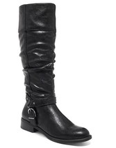 NIB White Mountain Black Riding Boots Sz 075 M - £36.39 GBP