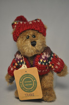 Boyds Bears & Friends - Terri - 8 Inch Plush - Red Sweater and Cap - $14.78