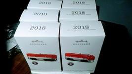 Lot of 6 Hallmark 2018 Lionel Texas Special Unit Red Train Keepsake Orna... - $29.69