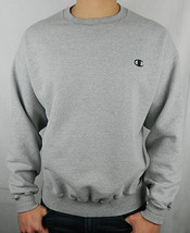 Vtg. 90s CHAMPION Mens 2XL XXL SWEATSHIRT PULLOVER Crewneck GRAY Eco    S - $32.96