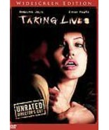 Taking Lives (DVD, 2004, Unrated Director's Cut) Free USA Shipping - $3.95