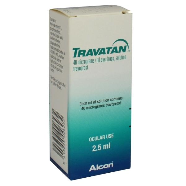 Travatan Eye Drops 2.5mL-1 Sealed Bottle- Exp 02/20-We Do Not Ship to California