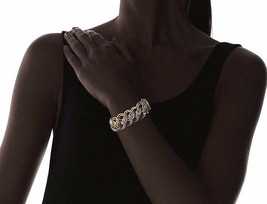 Lena Bernard Gold and Silver Tone Brass Metal Morana Bracelet NWT image 2