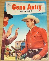 Gene Autry Comics #61 VG+ march 1952 - golden age dell comics western - photo - $13.99