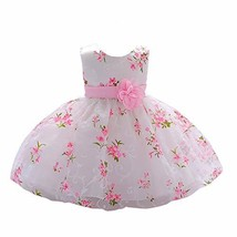 LZH Baby Girl Dress Formal Christening Baptism Gowns Pageant Dress for T... - $24.70