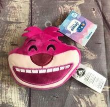 "Disney Store Emoji 4"" Cheshire Cat Face Plush Reversible Alice in Wonder... - $6.64"