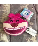 "Disney Store Emoji 4"" Cheshire Cat Face Plush Reversible Alice in Wonder... - $6.64"