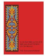 Bead Loom Vintage Motif 10 Bracelet Pattern PDF - $4.50