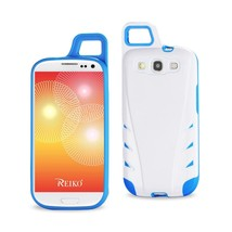 REIKO SAMSUNG GALAXY S3 DROPPROOF WORKOUT HYBRID CASE WITH HOOK IN WHITE... - $9.14