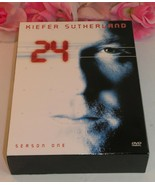 24 Kiefer Sutherland Complete Season One (1) TV Series Gently Used DVD's... - $19.99