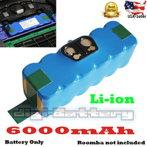 iRobot Roomba Vacuum Li-Ion 14.4V 6.0Ah Battery For 500 550 580 600 700 ... - $75.23
