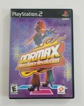DDRMAX Dance Dance Revolution PS2 Game 2002 Konami Playstation 2 - $5.89