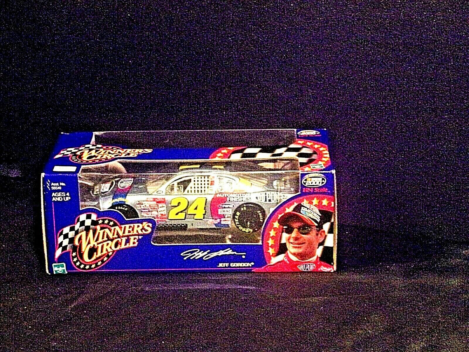 2000 Winners Circle Jeff Gordon #24 1:24 scale stock cars  AA19-NC8046