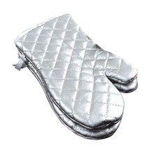 Long Thick Oven Gloves Heat Insulation large size - $14.28