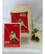 Hallmark KEEPSAKE ornament STAR WARS Jedi Master Yoda, Dated 2003, NIB, B2 - $25.06