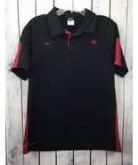 NIKE Mens Shirt Size M Alabama Roll Tide Rugby Polo Style Elephant Dri F... - $28.99