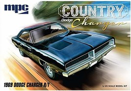 "MPC 1969 Dodge ""Country Charger"" R/T 1:25 Scale Model Kit - $29.98"