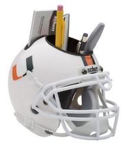 Miami Hurricanes NCAA Football Schutt Mini Helmet Desk Caddy - $21.95