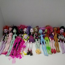 Lot Of 12 Monster High Dolls.  As Is In Played With Condition - $148.50