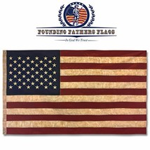 Founding Fathers Flags Embroidered Vintage American Flag- Premium Qualit... - $38.20