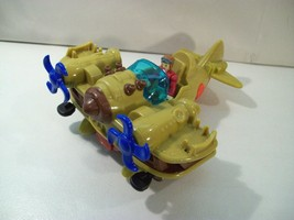 FISHER PRICE IMAGINEXT BI-PLANE BOMBER AIRPLANE WITH PILOT ACTION FIGURE - $16.61