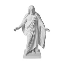 S4 10 Inches White Cultured Marble Statue Handmade One Moment In Time - $50.37