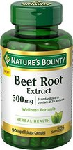 Nature's Bounty Beet Root Extract Pills and Herbal Health Supplement, We... - $12.72